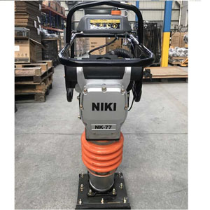 Máy đầm cóc Niki NK77 GX120