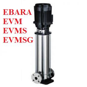 Máy bơm tăng áp Ebara EVMSG 64 6-2F5/37